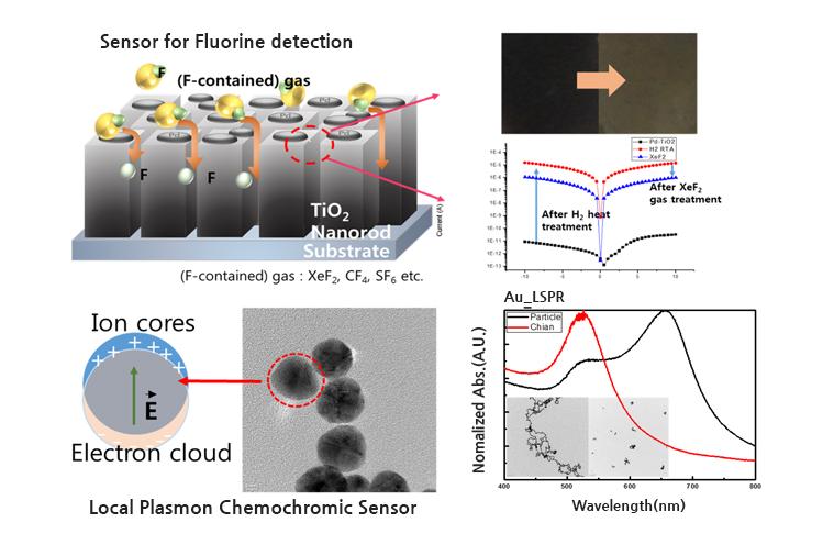 Plasmonic Universal Gas Senso
